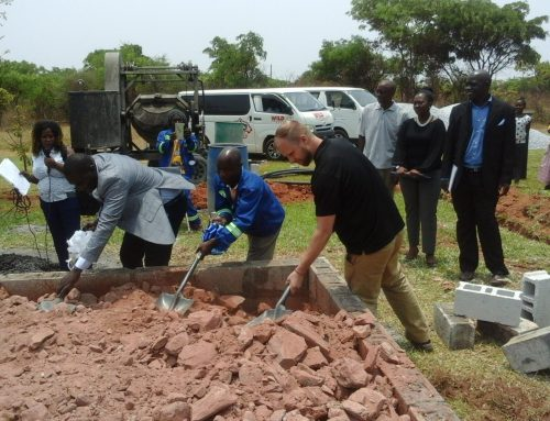 Zambia Association for Children with Disabilities (ZACD) welcomes the construction of a new workshop