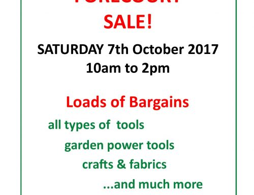 October Forecourt Sale, Eton College & BBOWT Sales plus Open Day