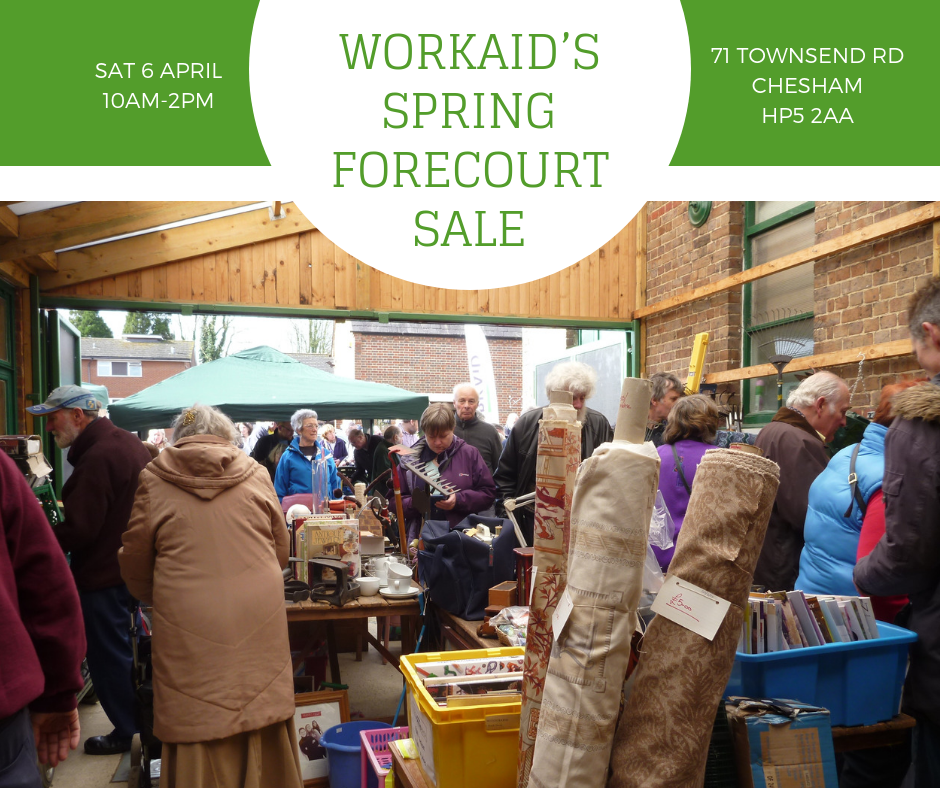 Workaid's Forecourt Sale