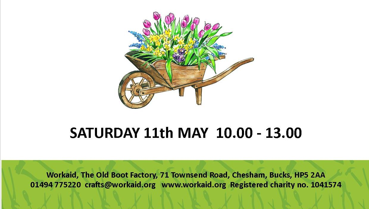 Workaid Plant Sale 11th May 2019 Chesham