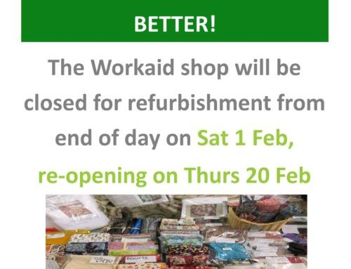 The Workaid Shop is Expanding