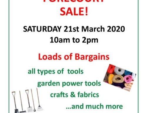 Forecourt Sale this March